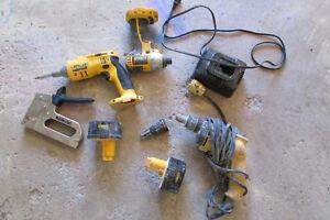 Dewalt Assorted Tools