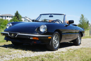 1990 Spider Veloce Convertible - excellent condition