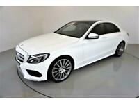 2016 Mercedes-Benz C-CLASS 2.1 C250 D AMG LINE PREMIUM PLUS 4d AUTO 204 BHP-2 OW