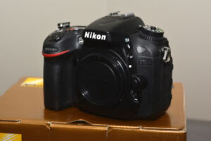 Nikon D7100 24.1 MP.  >only** 3400** SHUTTER COUNT