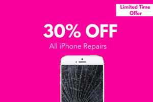 Get 30 Percent Off Your iPhone Repair!