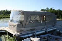 Princecraft Versailles Pontoon Boat with 60hp Four Stroke
