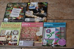 QUILTING MAGAZINES , IRELAND, AND OTHERS