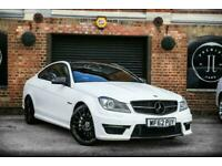 2012 Mercedes-Benz C-CLASS 6.2 C63 AMG 2d AUTO 457 BHP Coupe Petrol Automatic