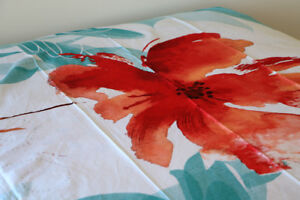 Designer colored bed-sheet and pillow cases