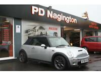 2006 MINI CONVERTIBLE 1.6 Cooper S + XENONS + HEATED BLACK LEATHER