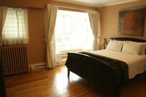 Spacious Fully Furnished 1 bdrm apartment