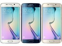 SAMSUNG GALAXY S6 EDGE 128GB NEW CONDITION UNLOCKED WITH WARRANTY AND RECEIPT