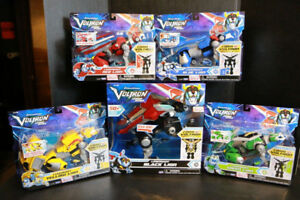 Voltron 5.5 Set of 5 MOC netflix