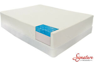 Cool Gel Memory Foam Queen Mattress Set Kingston Kingston Area image 1