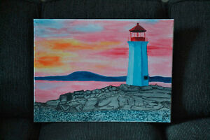 Painting for sale to raise funds for school program