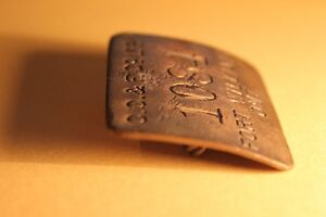 Old  FORT WILLIAM ID Metal Tag / Badge (VIEW OTHER ADS) Kitchener / Waterloo Kitchener Area image 3