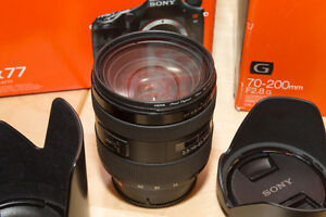 Sony 16-50mm F2.8 SSM A-Mount Lens Kitchener / Waterloo Kitchener Area image 1