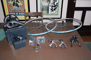 Ultegra 6800 11 speed groupset W/ CUSTOM WHEELSET Shifters crank