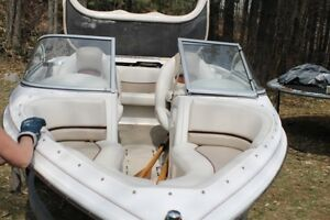 Boat is great for watersports and fishing