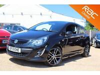 2013 13 VAUXHALL CORSA 1.4 BLACK EDITION 3D 118 BHP - RAC DEALER