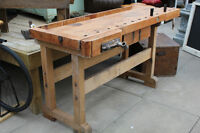 Awesome Antique Work Bench In Great Condition.