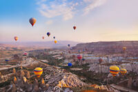 Tourists to see the Wonders of Turkey