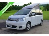 NISSAN SERENA 1.9 PETROL AUTO, ELEVATING ROOF SIDE CONVERSION