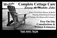 Muskoka Tree Removal  and Cottage Services