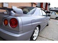 Nissan Skyline R34 GT 2.0 non turbo