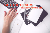 Professional Resume Writing & Editing