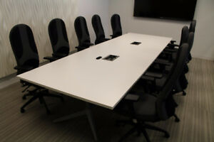 BOARDROOM & MEETING TABLES -CANNOT MISS OPPORTUNITY!