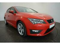 2014 RED SEAT LEON 2.0 TDI 184 FR TECHNOLOGY 5DR HATCH CAR FINANCE FR £161 PCM