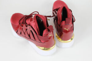 AUTHENTIC Women's Puma Muse Echo Casual Shoes Pomegranate