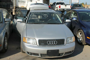 PARTING OUT AUDI A6 2003, 3.0 Automatic, AWD 135k