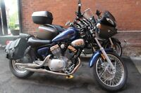 Yamaha V Star - 2013 with less than 1,000 k's