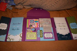 Large Collection of Scrapbooking Kits and Materials