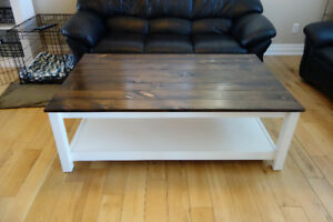Custom Farmhouse Coffee Tables