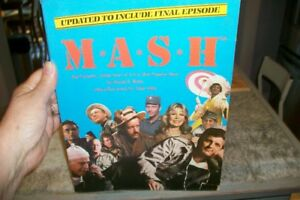 """Mash""  TV Show - Book written about Mash - 168 Pages"