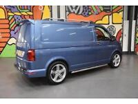 VW TRANSPORTER T6 T28 SWB 2.0TDI 160PS HIGHLINE P/V SPORTLINE PACK ACAPULCO BLUE