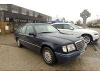 1994 (M) MERCEDES E200 ESTATE Classic Blue Auto