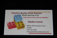 Quality Home Daycare in Innisfil - RECE