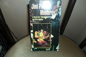 JIMI PLAYS MONTEREY VHS