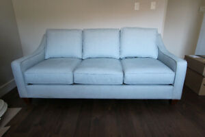 Gorgeous Pale Teal Designer Sofa