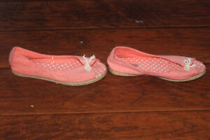 Pink Summer Shoes, Size 8