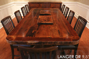 Reclaimed Wood Tables - Locally Created Cambridge Kitchener Area image 2