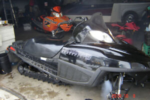 His n' Hers Arctic Cat Sno Pro's Snowmobiles