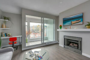 Newly Reno'd 2 br 2 baths plus a den townhouse in Point Grey