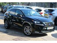 2016 Lexus NX 300H 2.5 Luxury E-CVT 4WD 5dr SUV Petrol/Electric Hybrid Automatic