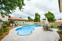 Open House aug 29&30, 2-4pm. Backyard oasis - Pool