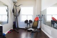 Don't like busy gyms? Come to my bright, clean private gym!