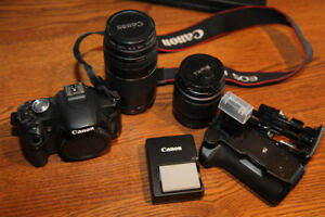 Canon Camera with extras