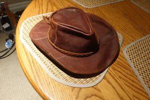 Men's Genuine Leather Hat