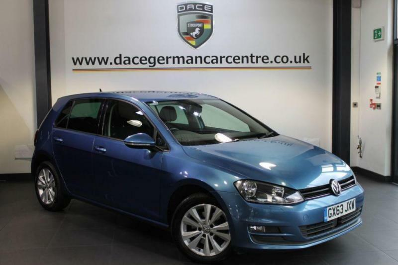 2013 63 VOLKSWAGEN GOLF 1.6 SE TDI BLUEMOTION TECHNOLOGY DSG 5DR AUTO 103 BHP DI