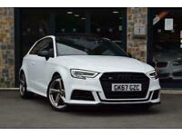 2017 Audi S3 TFSI QUATTRO BLACK EDITION Semi Auto Hatchback Petrol Automatic